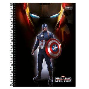 Caderno-Espiral-Universitario-1x1-96-fls-Capa-Dura-Tilibra---Avengers-Civil-War-Capa-4