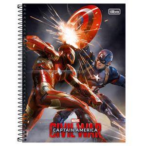 Caderno-Espiral-Universitario-10x1-200-fls-Capa-Dura-Tilibra---Avengers-Civil-War-Capa-4