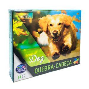 Quebra-Cabeca-100-Pecas-Dog---Pais-e-Filhos