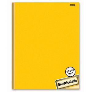 Caderno-Pedagogico-Brochura-C.D.-40-fls-Quadriculado-1x1cm-Amarelo---Sao-D.