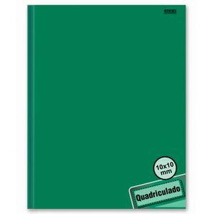 Caderno-Pedagogico-Brochura-C.D.-40-fls-Quadriculado-1x1cm-Verde---Sao-D.