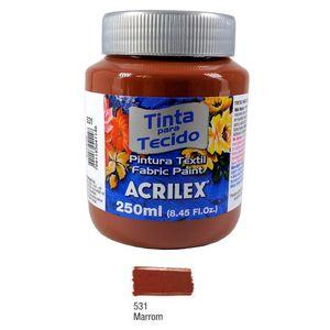 tinta-tecido-fosca-531-marrom-250-ml