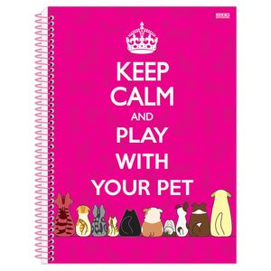Caderno-Espiral-Universitario-10x1-200-fls-Capa-Dura-Sao-Domingos---Keep-Calm-Girl-Capa-3