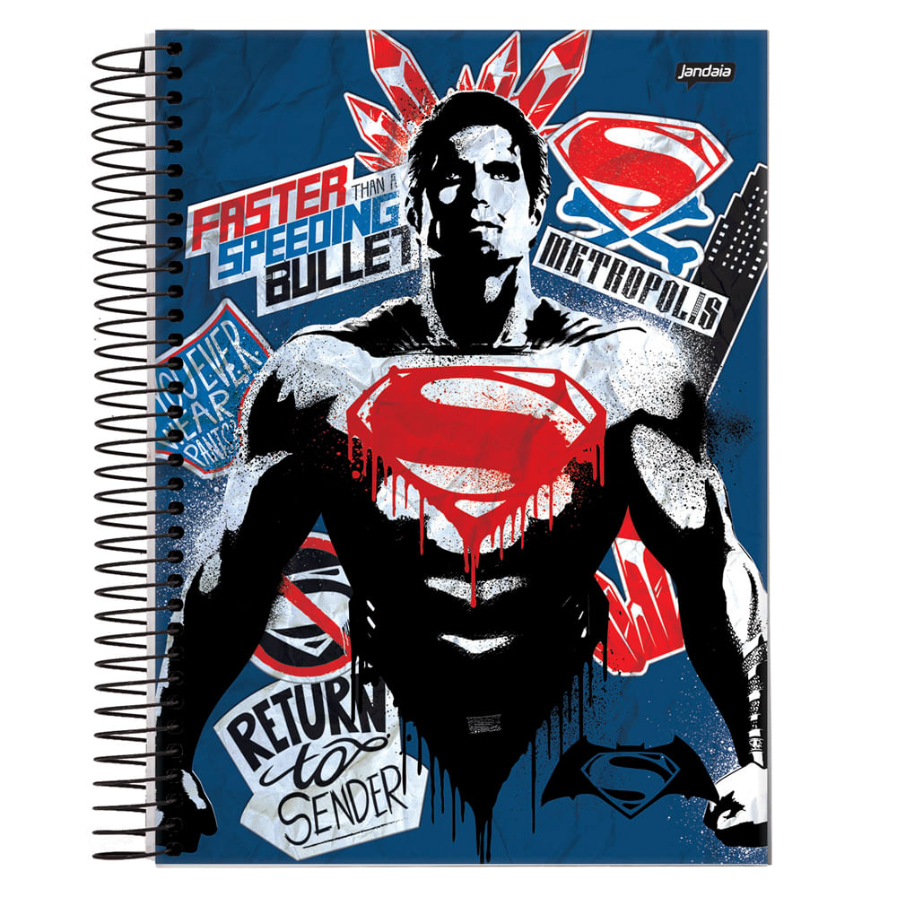 Caderno-Espiral-Universitario-10x1-200-fls-Capa-Dura-Jandaia---Batman-Vs-Superman-Capa-3