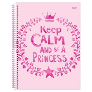 Caderno-Espiral-Universitario-1x1-96-fls-Capa-Dura-Sao-Domingos---Keep-Calm-Girl-Capa-2