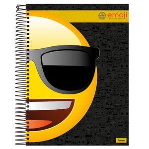 Caderno-Espiral-Universitario-1x1-96-fls-Capa-Dura-Foroni---Emoji-Capa-1
