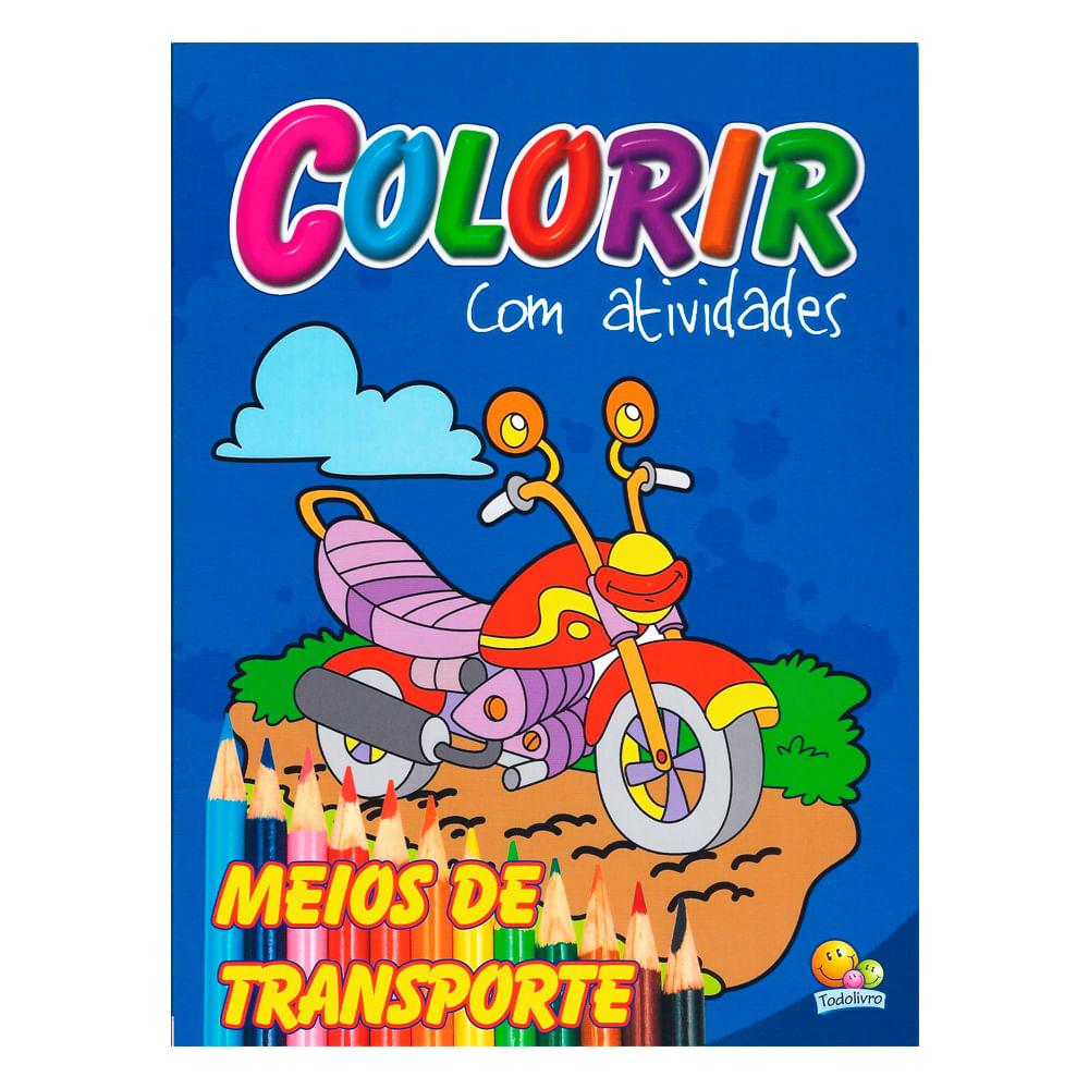A Galinha Dos Ovo De Ouro Para Colorir livro colorir meios transporte - news center online - newscenter
