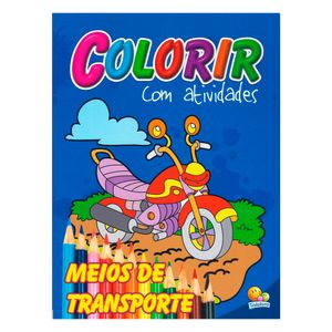 Livro-Colorir-Com-Atividades-Meios-de-Transporte---Todolivro