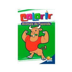 Livro-Colorir-Animais-da-Fazenda---Todolivro