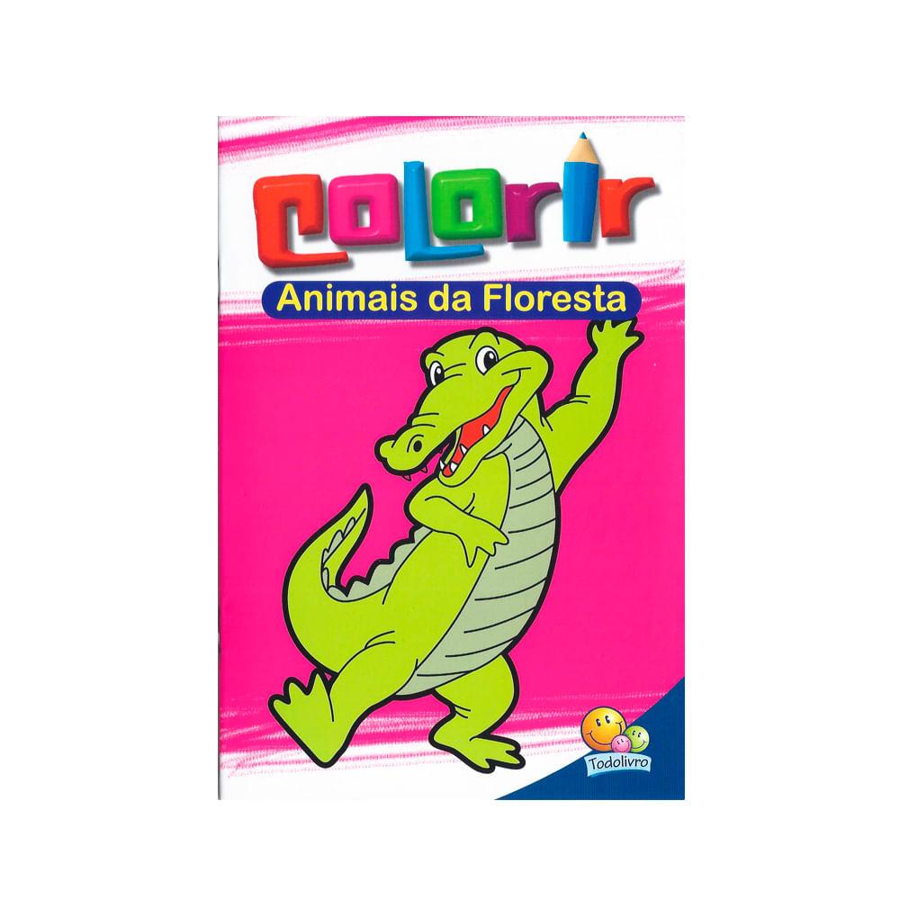 livro animais da floresta colorir news center online newscenter