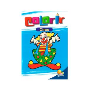 Livro-Colorir-Circo---Todolivro