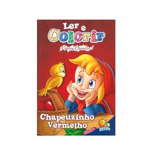 Livro-Ler-e-Colorir-Contos-Classico-Chapeuzinho-Vermelho---Todolivro