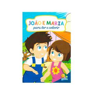 Livro-Ler-e-Colorir-Joao-e-Maria---Todolivro