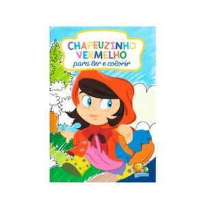 Livro-Ler-e-Colorir-Chepeuzinho-Vermelho---Todolivro