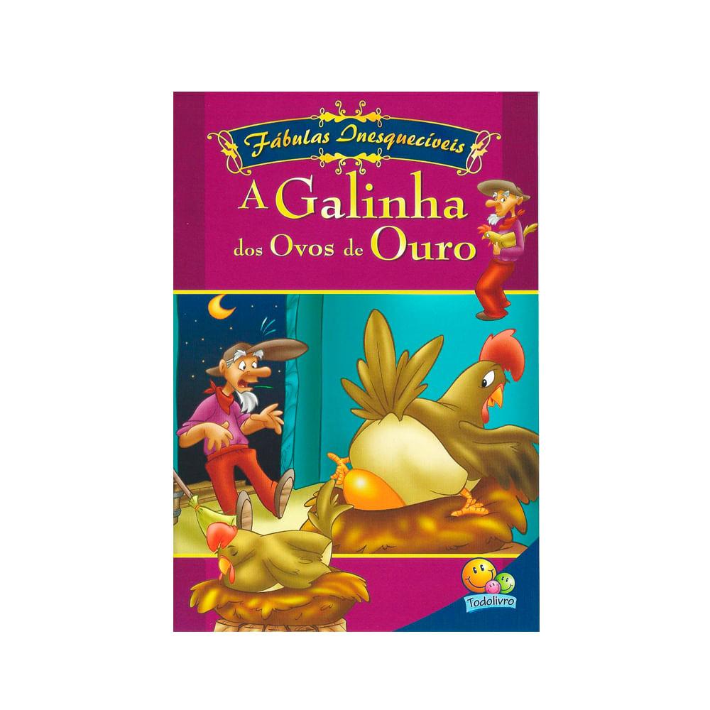 A Galinha Dos Ovo De Ouro Para Colorir livro a galinha dos ovos de ouros fábulas inesquecíveis