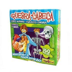Quebra-Cabeca-160-Pecas-Corpo-Humano-Algazarra---Esqueleto-e-Orgaos