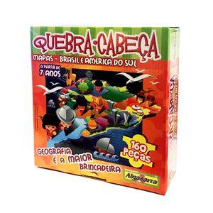 Quebra-Cabeca-160-Pecas-Mapas-Algazarra---Brasil-e-America-do-Sul