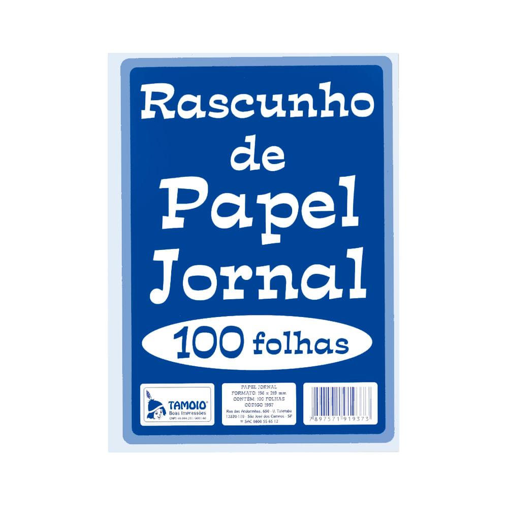 Rascunho-de-Jornal-156x219mm-com-100-Folhas---Tamoio