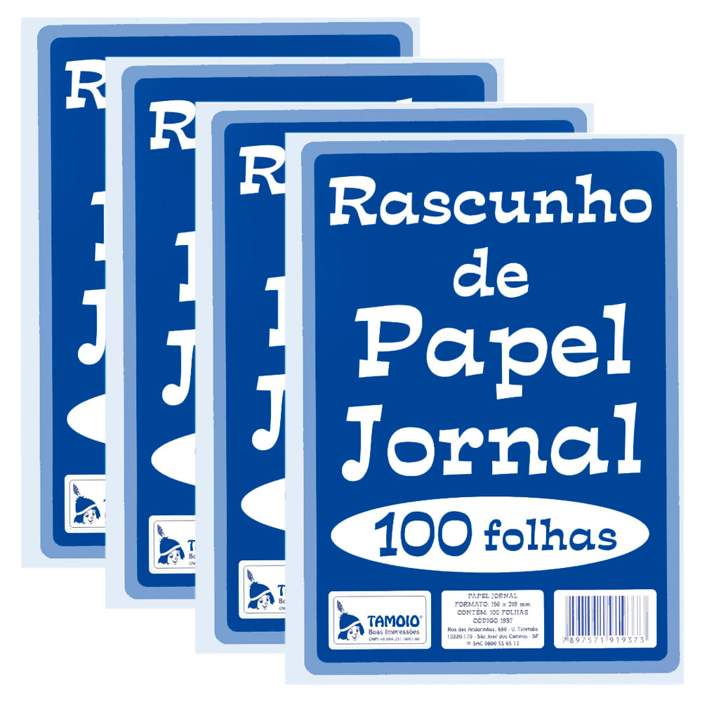 Rascunho-de-Jornal-156x219mm-com-100-Folhas-PT-20---Tamoio