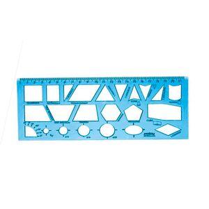 regua-geometrica-azul
