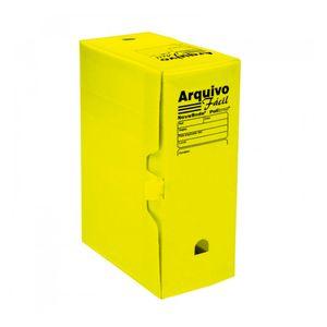 Caixa-Arquivo-Morto-Facil-Amarelo---Polibras
