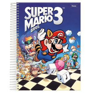 Caderno-Espiral-Universitario-10x1-200-fls-Capa-Dura-Foroni---Super-Mario-Capa-3