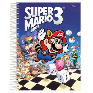 Caderno-Espiral-Universitario-1x1-96-fls-Capa-Dura-Foroni---Super-Mario-Capa-3