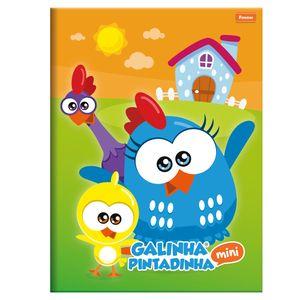 Caderno-Brochurao-Capa-Dura-96-Folhas-Foroni---Galinha-Pintadinha-Mini-Capa-1