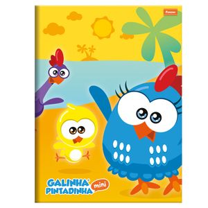 Caderno-Brochurao-Capa-Dura-96-Folhas-Foroni---Galinha-Pintadinha-Mini-Capa-2