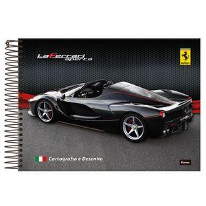 Caderno-Cartografia-Capa-Dura-96-fls-Foroni---Ferrari