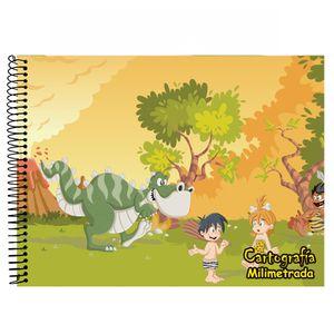 Caderno-Cartografia-e-Milimetrado-Capa-Dura-48-Fls-Tamoio---Desenho-Capa-8