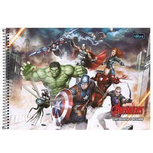 Cartografia-C.D.-96-fls-Tilibra---Avengers-1