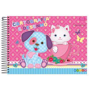 Caderno-Cartografia-Capa-Dura-96-fls-Foroni---Kolor