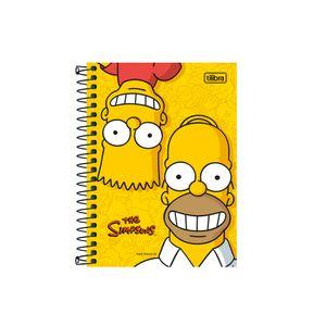 Caderneta-1-8-C.D.-96-Folhas-Tilibra---Simpson-5