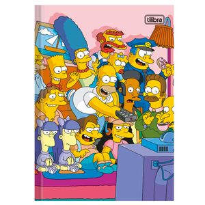 Brochurao-C.D.-96-Fls-Tilibra---The-Simpsons-1