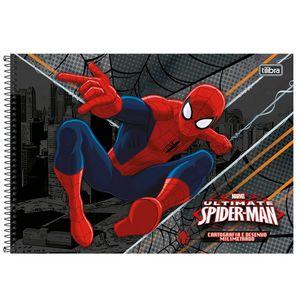 Cartografia-e-Milimetrado-C.D.-96-fls-Tilibra---Spider-Man-1