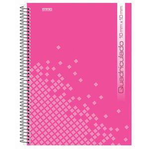 Caderno-Pedagogico-C.D.-96-fls-Quadriculado-1x1cm-Rosa---Sao-Domingos