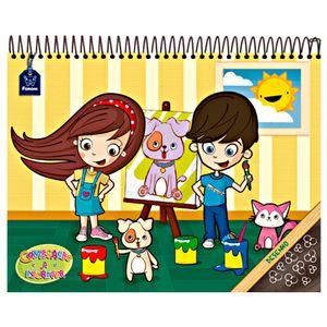 Caderno-C.D.-40-Fls-Desenho-Comecando-a-Escrever---Foroni