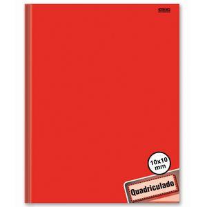Caderno-Pedagogico-Brochura-C.D.-40-fls-Quadriculado-1x1cm-Vermelho---Sao-D.