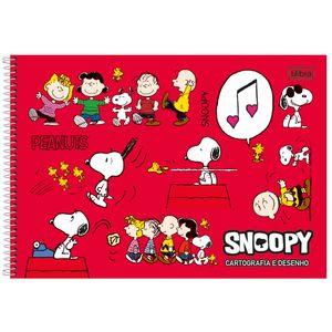 Cartografia-C.D.-96-fls-Tilibra---Snoopy-2
