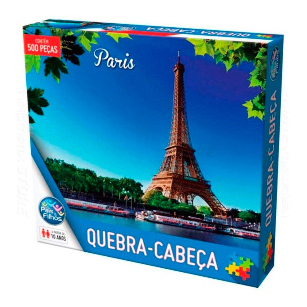 Quebra-Cabeca-500-Pecas-Pais---Filhos---Paris