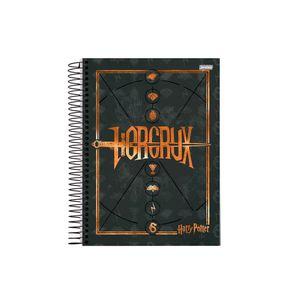 Caderneta-1-8-C.D.-96-Folhas-Jandaia---Harry-Potter-2