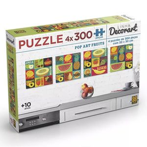 puzzle-4-x-300-pecas-decorart-pop-art-fruits-grow