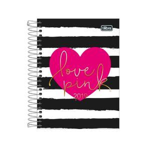 Agenda-Espiral-Love-Pink-M4-2019-1---Tilibra