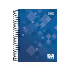 Agenda-Espiral-Zip-Azul-M4-2019---Tilibra