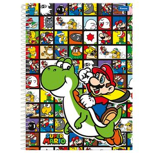 Caderno-Universitario-15x1-300-fls-C.D.-Foroni---Super-Mario-4