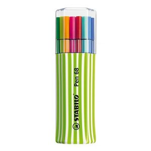 estojo-triangular-verde-caneta-pen-68-com-15-cores-stabilo