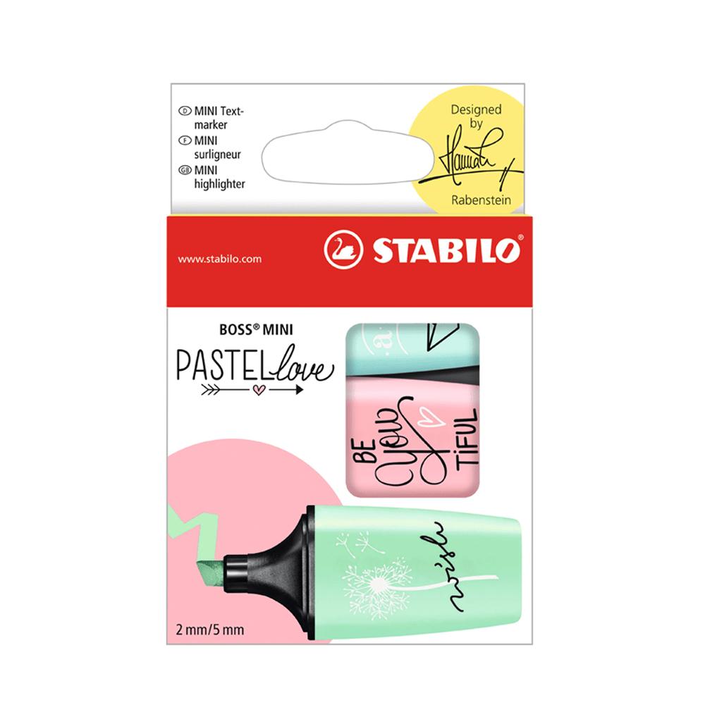Estojo-de-Marca-Texto-Boss-Mini-Pastel-Love-com-3-Cores---Stabilo