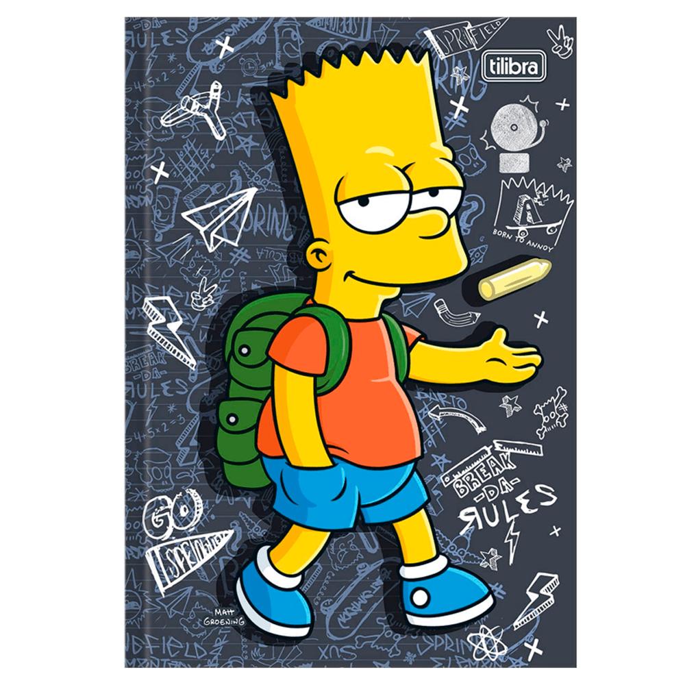 Brochurao-CD-96-Fls-Tilibra-The-Simpsons-6