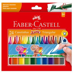 Caneta-Hidrografica-Jumbo-Triangula-com-24-Cores---Faber-Castell